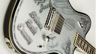 We gotta admit - even Johnny Depp's guitar is good looking!