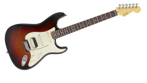 The Deluxe HSS Shawbucker is another example of Fender's ongoing attempts to reclaim the 'Superstrat'