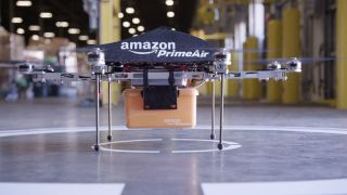 Amazon's drone delivery patents published