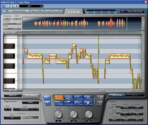 Tune is designed to rival Auto-Tune.