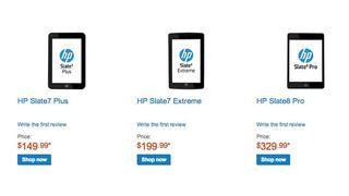 HP slate tablets