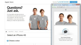 Apple store assistance