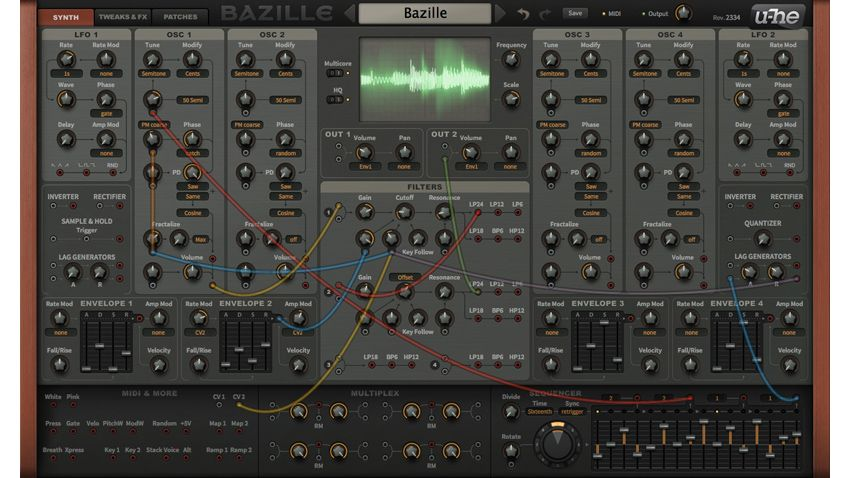 u he bazille plugin synth now available musicradar. Black Bedroom Furniture Sets. Home Design Ideas