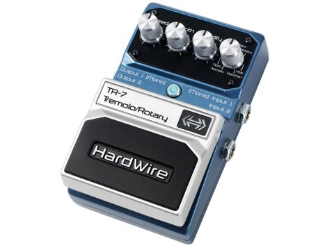 The TR-7 packs a range of novel effects.