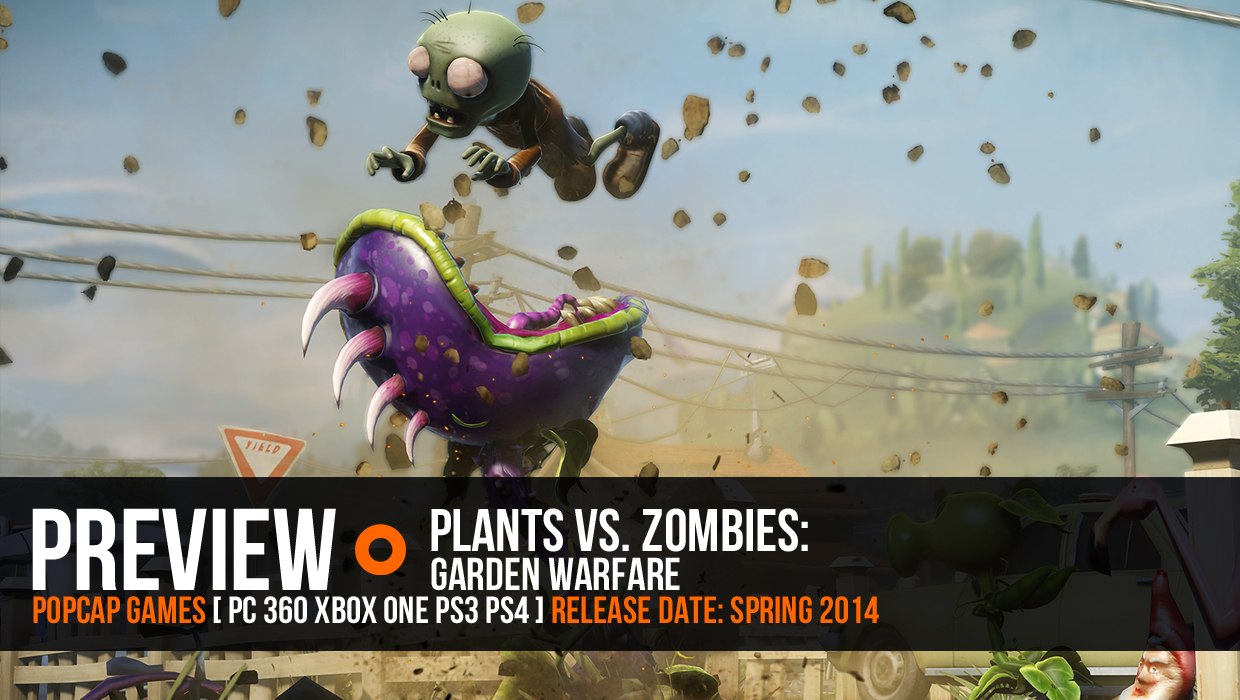 High Quality The Vegetation A Team Of Plants Vs. Zombies: Garden Warfare | GamesRadar+