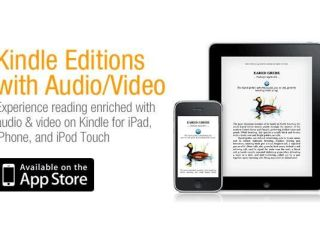 Amazon adds video and audio features to Kindle for iPad iPhone and iPod touch