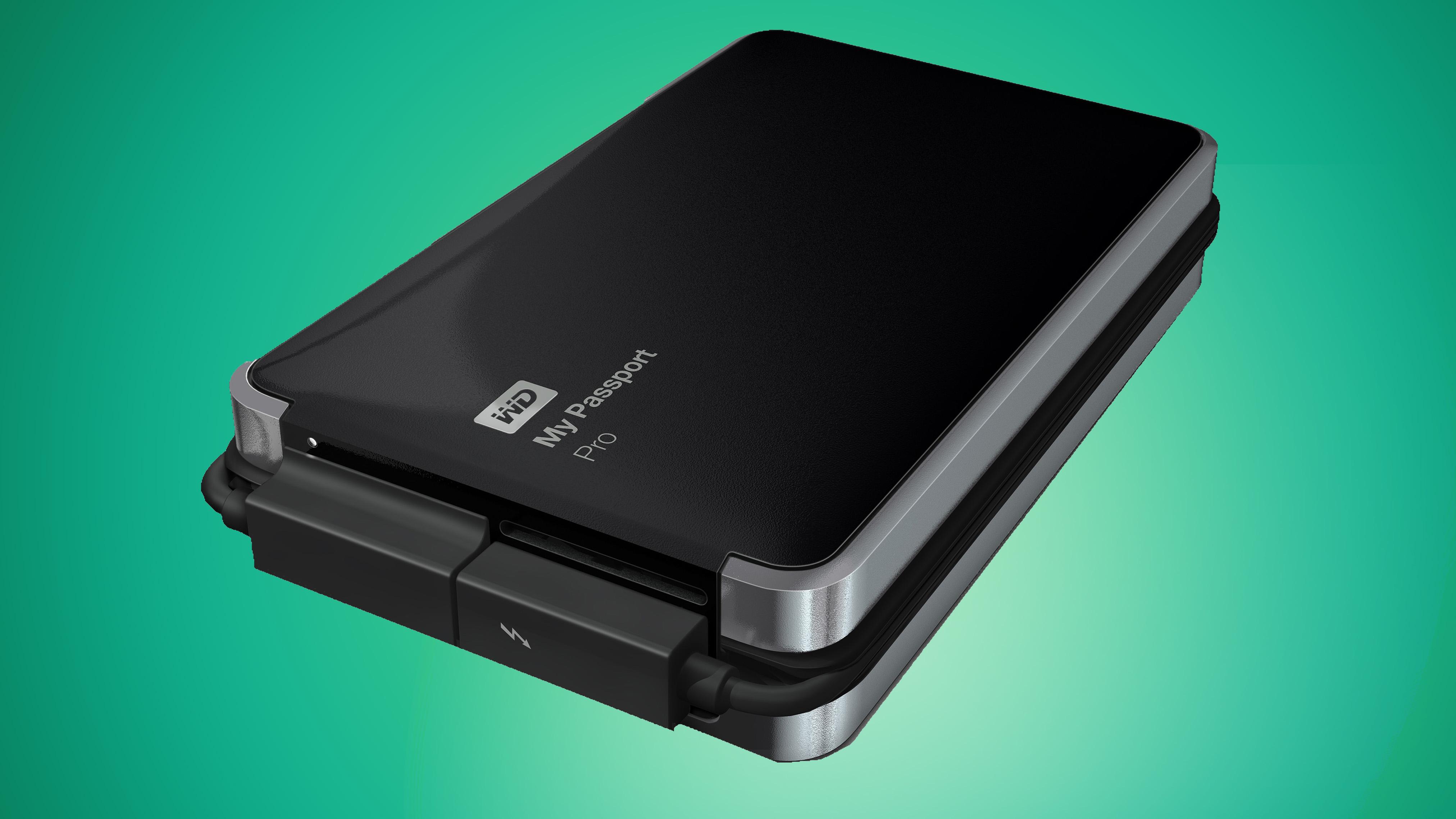 Western Digital My Passport Pro 2TB review | TechRadar