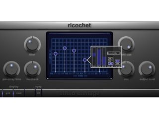Ricochet gives you individual control over five delay taps