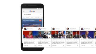 Google is using data collection to bring you closer to the presidential race