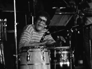 The late Ray Baretto is a percussion legend.