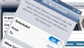 Fix for iOS 6 Do Not Disturb feature coming on January 7
