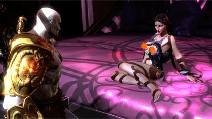 God of war 3 sex mini game video