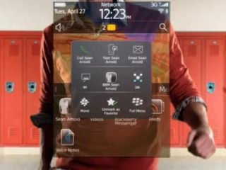 The new BlackBerry OS 6.0 - complete with freaky headless dancer