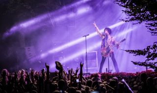 Prince onstage in Denmark