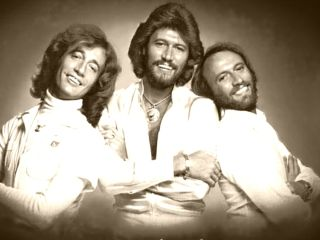 The Bee Gees do a heart good