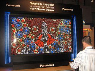 Panasonic 150-inch 3DTV