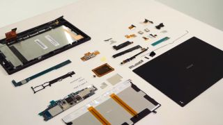 Watch Sony coldly and meticulously tear the Xperia Tablet Z down