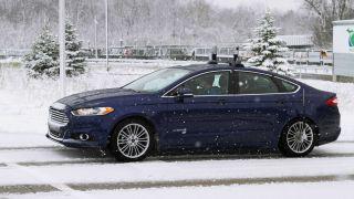 Ford Fusion Hybrid Autonomous