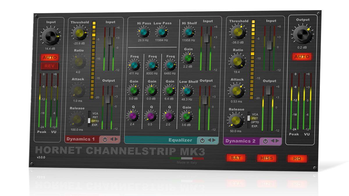 Hornet Channel Strip Mk3 Musicradar
