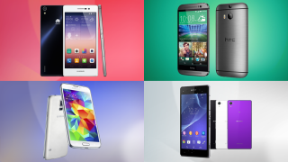 Huawei Ascend P7 vs HTC One M8 vs Samsung Galaxy S5 vs Sony Xperia Z2