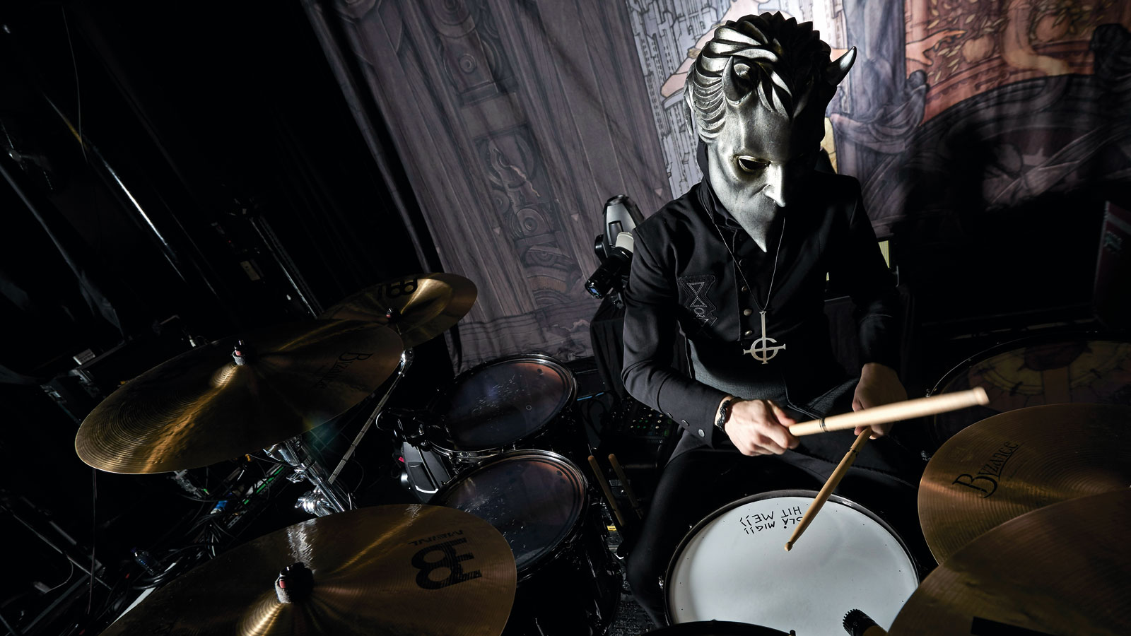 Image result for ghost nameless ghoul drums