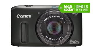 TechRadar's Deals of the Week: Canon Powershot SX 240HS for £119.99