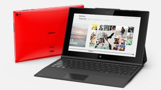 Nokia Lumia 2520 tablet in red