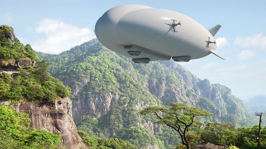 Airships are back. And this time they use graphene