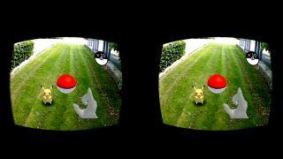 Pokemon Go comes to life with Google Cardboard and a depth sensor