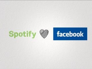 Facebook announces link-up with Spotify