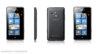 Samsung Omnia M launched: bit of a copy cat