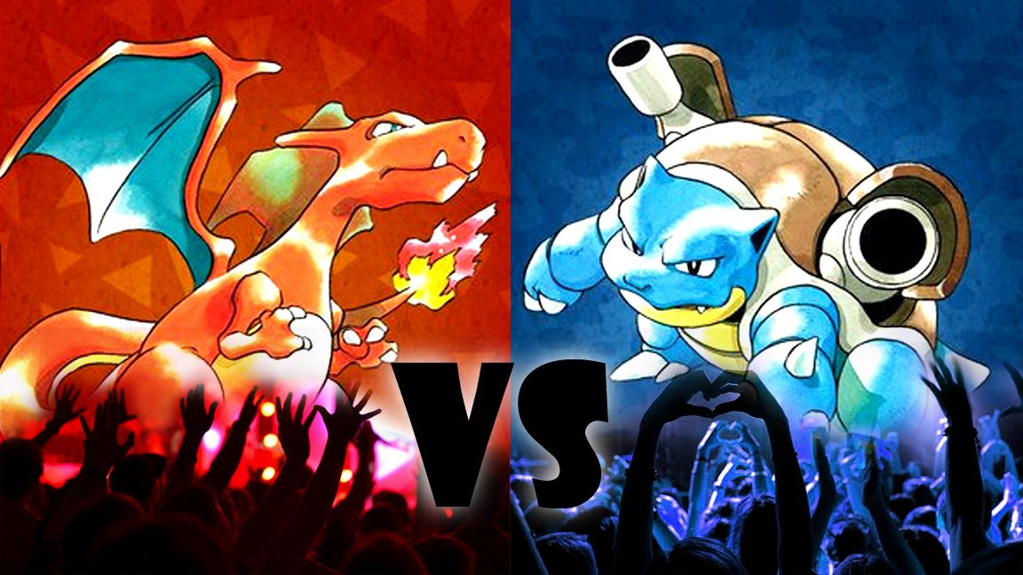 Nintendo is pitting Pokémon Red and Blue fans against each other