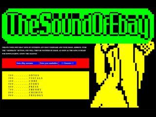 The Sound Of eBay