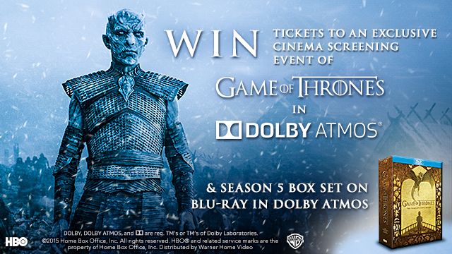 WIN Tickets to an Exclusive Cinema Screening of Game of
