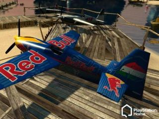 The Red Bull Island in PlayStation Home