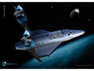 The Virgin Shuttle is a phone, not a space plane