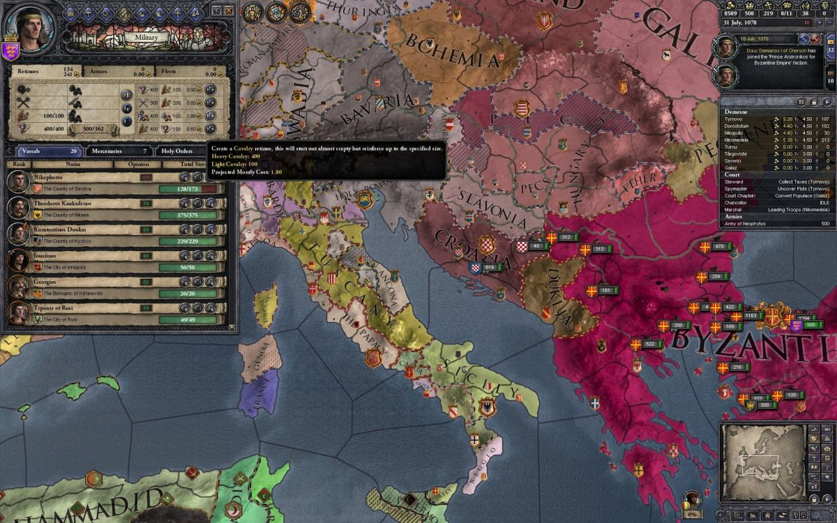 Crusader Kings 2: Legacy of Rome expansion lets you flex your