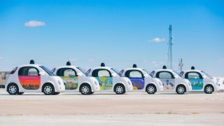 Google self-driving car fleet
