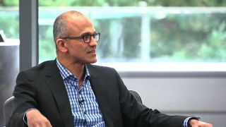 satya nadella windows 10 interview