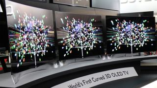 LG's curved OLED TVs primed for release in second half of 2013