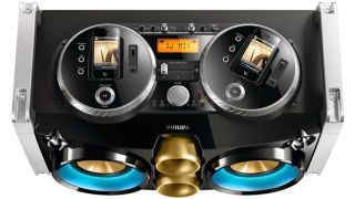 Philips launches monstrous Mini Hi-Fi system with nod to iPhone-toting DJs