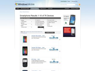 Windows Smartphone selection