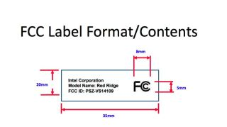 Intel FCC filing