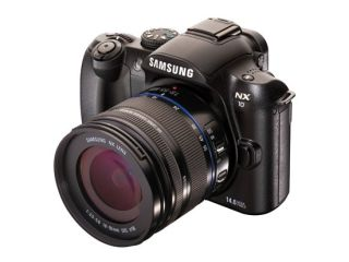 Samsung NX10 - small but perfectly formed