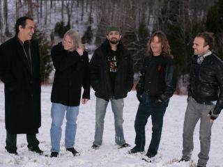 Outstanding in their field Neal Morse Steve Morse Mike Portnoy Dave LaRue and Casey McPherson