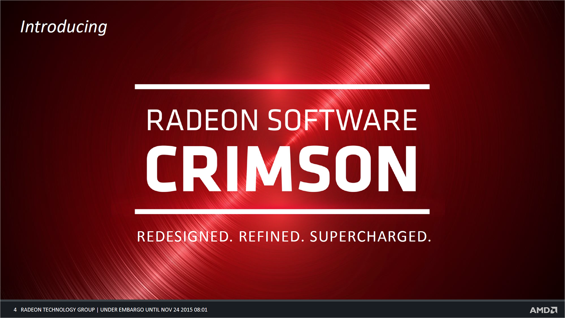 AMD Radeon Software Crimson Edition Tested | PC Gamer