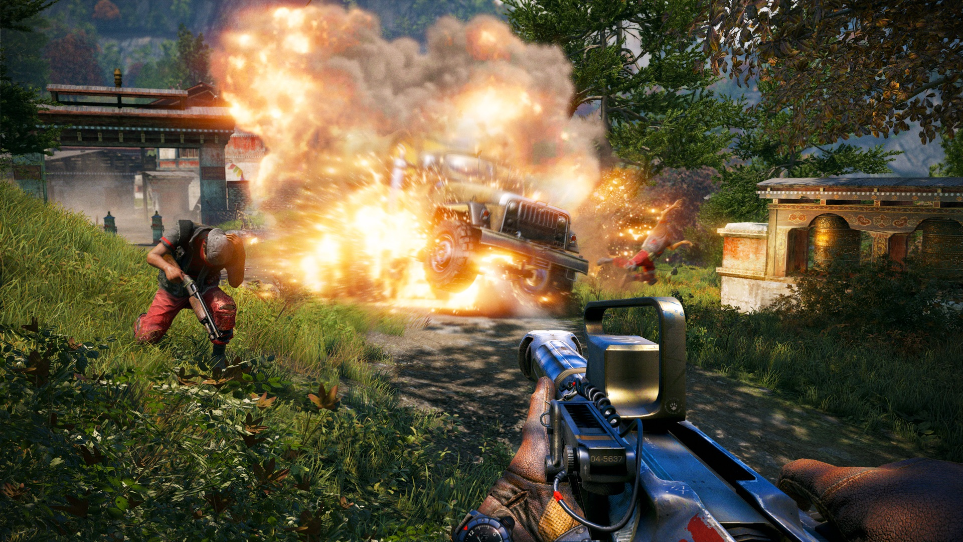 Far Cry 4 Hands On Roaming Free In Kyrat Pc Gamer