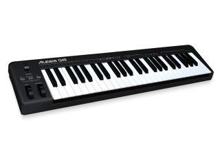 Alesis Q49: a no-frills MIDI keyboard.