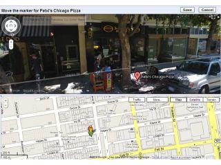 Google Street View - now editable