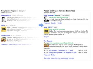Facebook hits back at Google centric search results